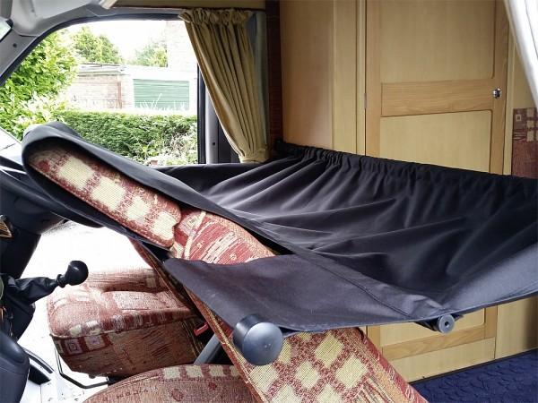 Cabbunk Kinderbett für Fahrerhaus mit Drehsitzen Ford Transit einzel