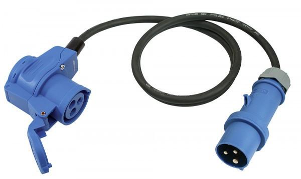 standard Winkelkupplung CEE auf CEE Stecker ohne Kontrollleuchte