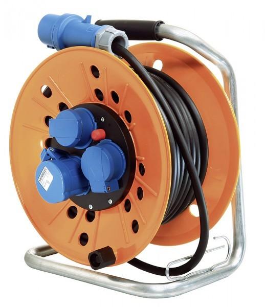 standard Kabeltrommel CEE 230 V mit abschließendem Klappdeckel