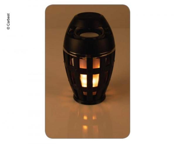 CARBEST LED Fackel Leuchte mit Bluetooth Lautsprecher REIMO