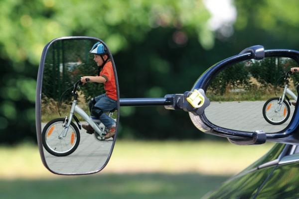EMUK Spezialspiegel Wohnwagenspiegel Seat Alhambra mit integriertem Blinker ab 2