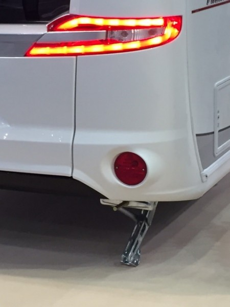 HOBBY BPW KNOTT Stützen Elecktrische + Akku X10 Lithium Caravan Vollautomatisch