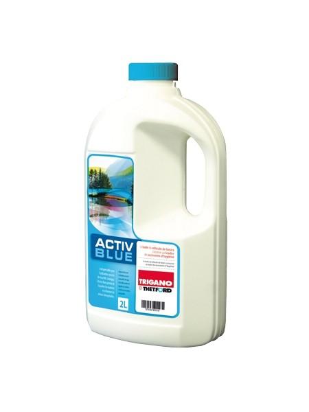 ACTIV BLUE 2 Liter ( 5,49€ / 1 Liter) Sanitärzusatz Fäkalientank Wohnwagen