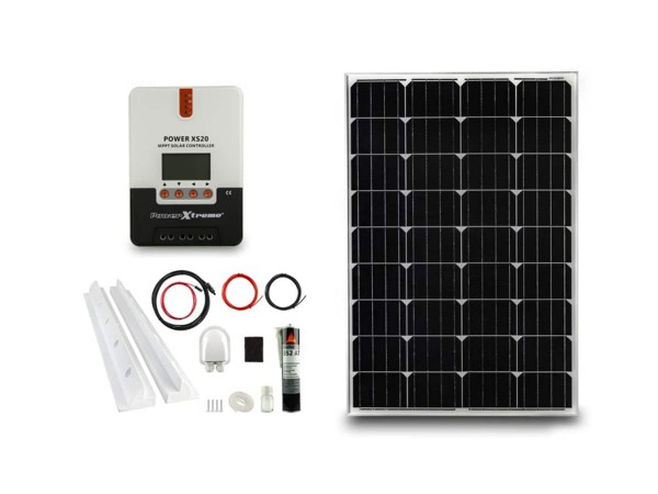 Power XS20 Solar MPPT 100W SET (1200 x 540 x 30 mm) emergoplus