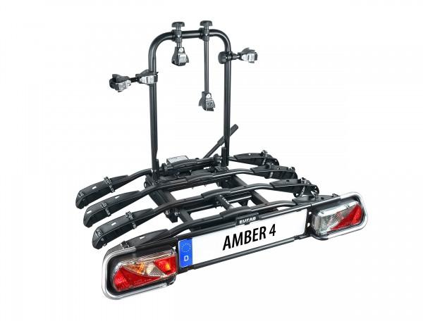 Eufab Bike 4 AMBER IV Fahrradträger für 4 Kupplungsträger