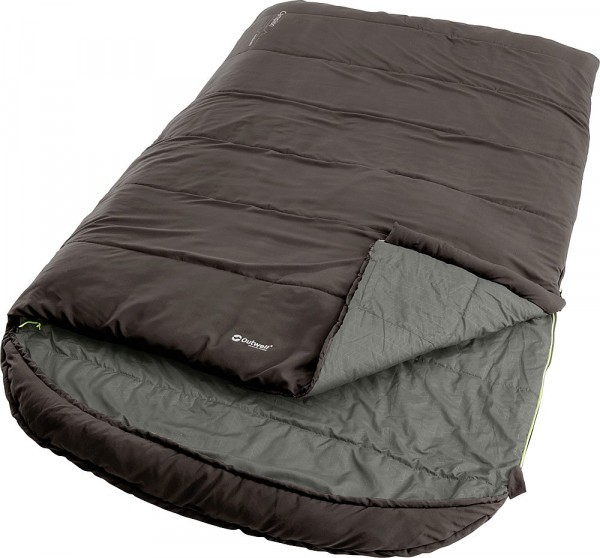 Outwell Schlafsack Campion Lux Double braun