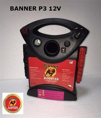 Banner P3 Power Pack 12V 1600A EVO Starthilfe PROFIGERÄT GEWERBLICH