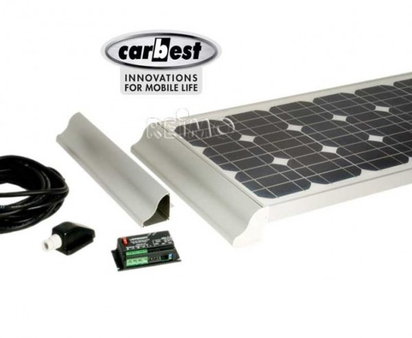 Solaranlage Wohnmobil 2x60 Watt Carbest CB-120 Set