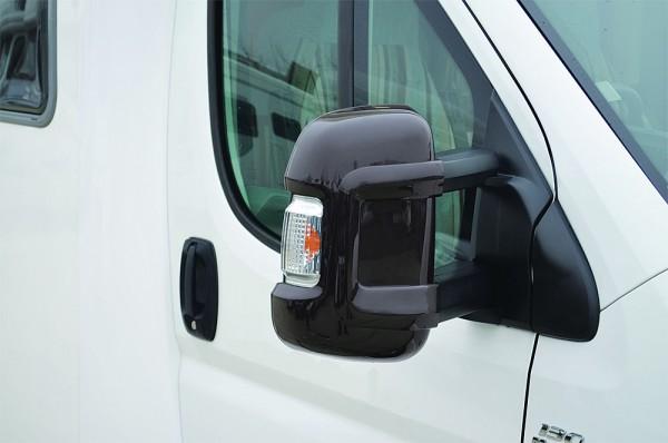 Spiegelschutz Fiat Ducato Spiegelprotektorsatz MIRROR schwarz Kurz