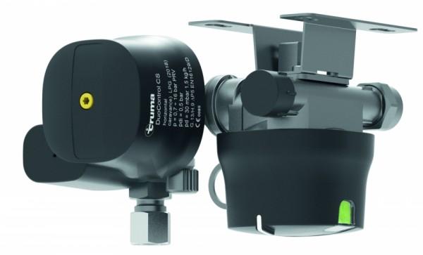 Regler DuoControl CS horizontal 30 mbar Truma Crashsensor zwei Flaschen