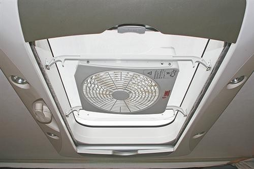 Turbo Kit Ventilator FIAMMA Dachhaube Dachluke Wohnwagen Wohnmobil