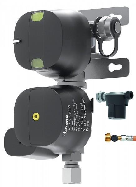 Regler DuoControl CS vertikal 30mbar Truma SET 2x HD Schlauch 2x Gasfilter
