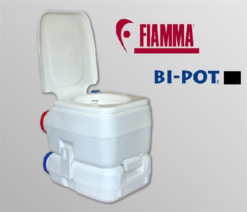 Bi-Pot 34 Camping WC bipot Fiamma Tragbar Toilette wassertank