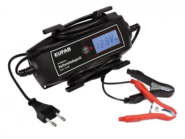 Erhaltungsladegerät Intelligentes Batterieladegerät 6/12V, 4A Kabelaufroller APA
