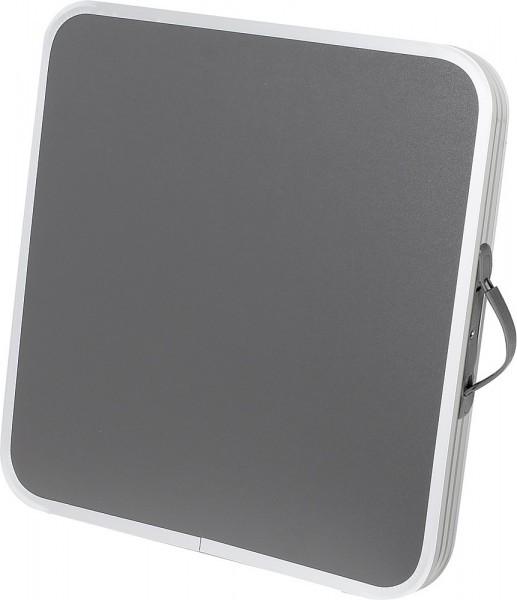 MOVERA Tischplatte Varia zu Hocker klappbar gepolstert grau