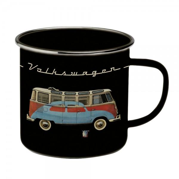 Henkelbecher VW T1 Bus schwarz VW Collection by BRISA