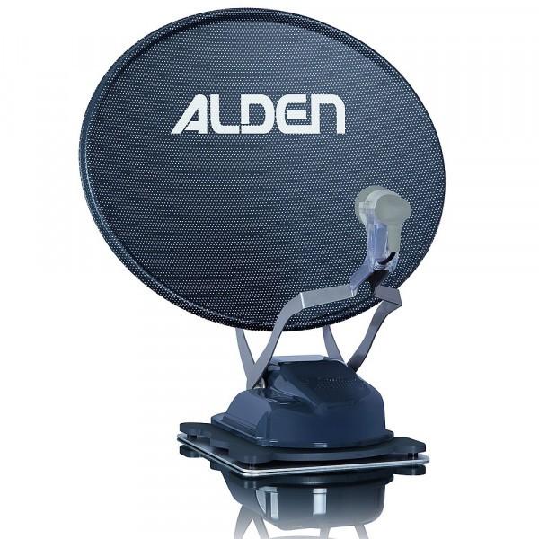 """ALDEN Satanlage Onelight 60 HD EVO Platinium grau inkl. HD-Steuermodul und Smartwide LED TV 22"""" A"""