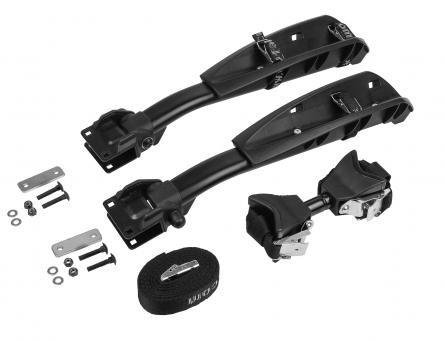 EUFAB Fahrradträger Erweiterung für CROW PLUS 3. Fahrrad Kupplungsträger