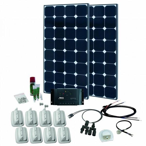 Phaesun Solaranlage SPR Caravan Kit Solar Peak Three 6.0 / 2 x 110 Wp