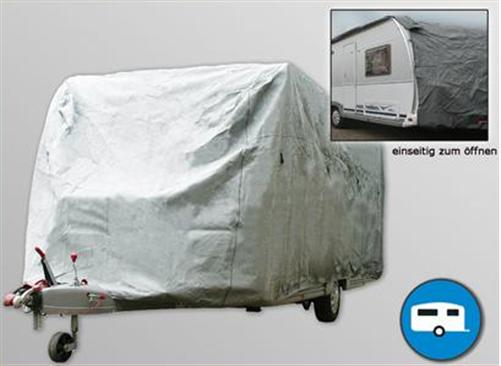 Wohnwagen Abdeckung allwetter Größe LxBxH ca. 3,66-4,25cm x 2,35 x 2,50 COVER