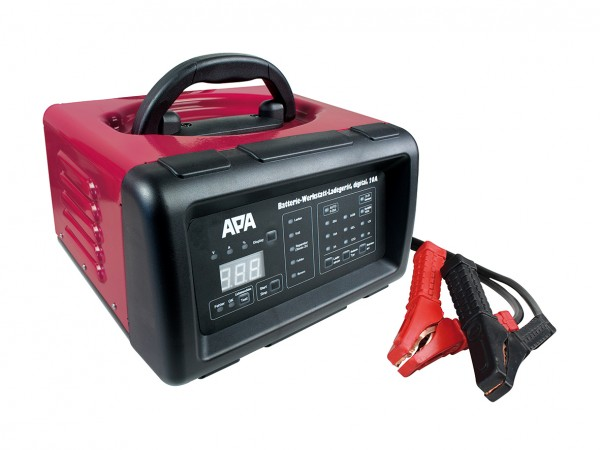 Batterie Werkstatt Ladegerät digital 20A APA Starthilfe Starterbatterien