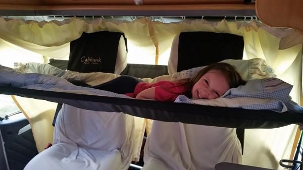 Cabbunk Kinderbett für jedes Fahrerhaus mit Drehsitzen VW T6 einzel