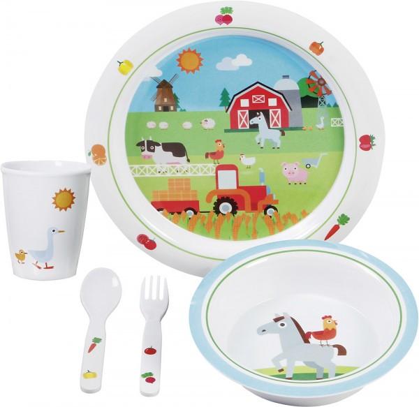 BRUNNER Geschirrset Farm Kids Boy 5-tlg.