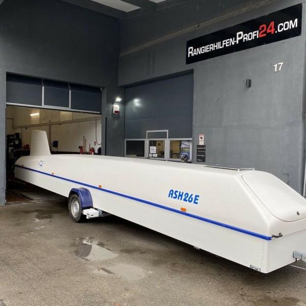 Rangierhilfe Cobra Anhänger + Adapter + Einbau in Göppingen Segelflieger