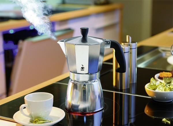 GEFU Espressokocher Lucino 6 Tassen