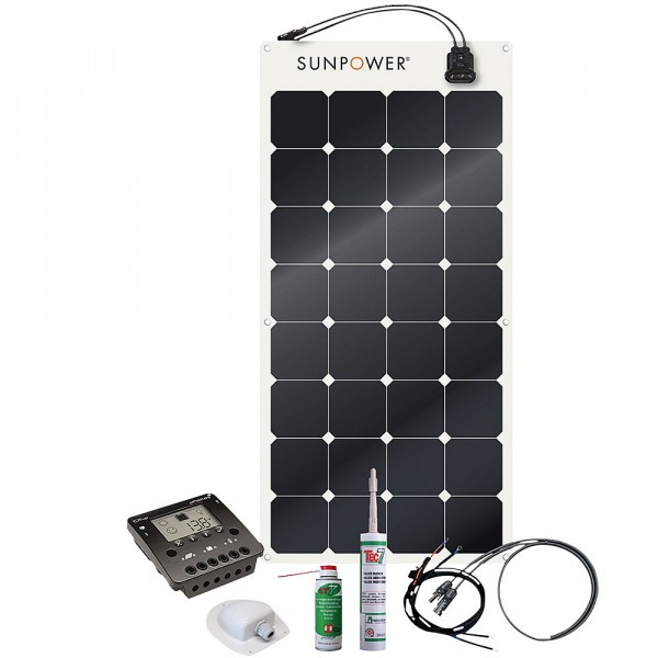 Phaesun Solaranlage Energy Generation Kit SunPower SPR-E-Flex
