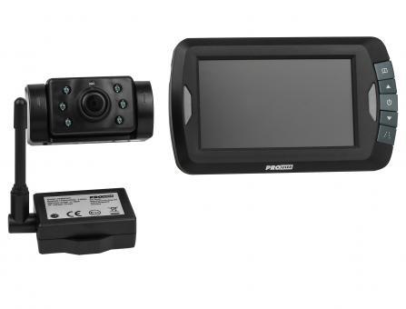Rückfahr-Kamerasystem kabellos APR 043 mit Nachtsichtfunktion