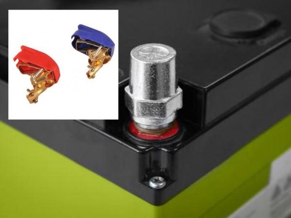 Enduro BATTERIEPOL AUFSCHRAUB SATZ + SCHNELLPOL SET Lithium Akku Batterie