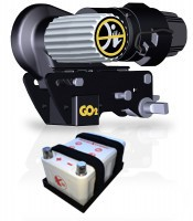 GO2 + X10 Lithium Akku NEUE AUSFÜHRUNG Rangierhilfe Einachser Wohnwagen