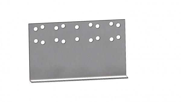 Adapter Montageplatten BPW Vario III IV Hinter der Achse Rangierhilfe (90)
