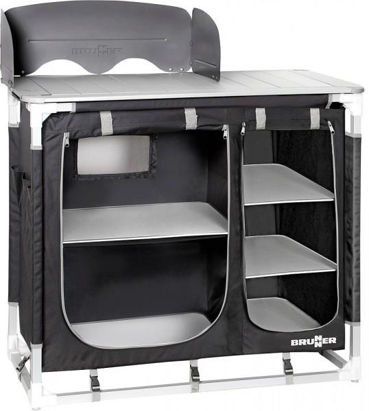 BRUNNER Kochbox Azabache CT Square schwarz grau