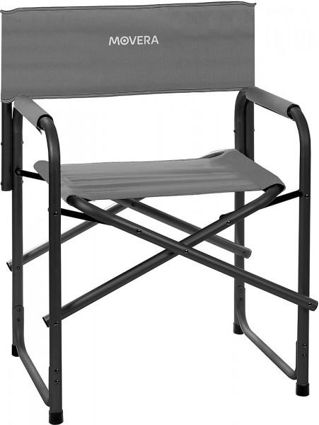 MOVERA Regiestuhl Polyx klappbar, grau/schwarz Camping Dachzelt