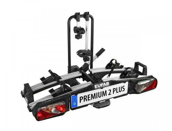 EUFAB Fahrradträger PREMIUM II 2 PLUS Fahrräder auch E-Bikes kupplungsträger