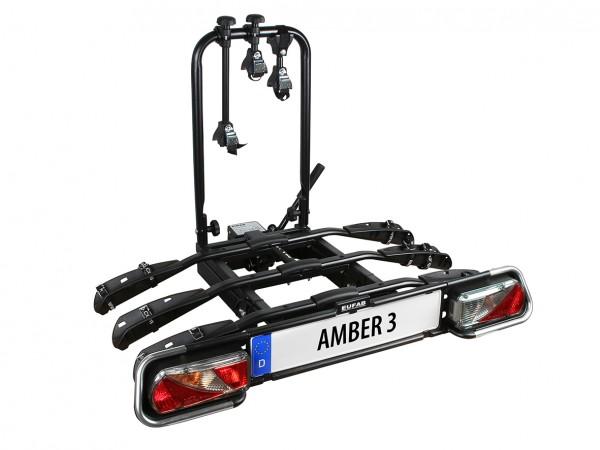 Eufab Bike 3 AMBER III Fahrradträger für 3 Kupplungsträger
