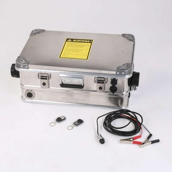 Mobile Diesel Luftheizung AUTOTERM mit Alubox ohne Batterie