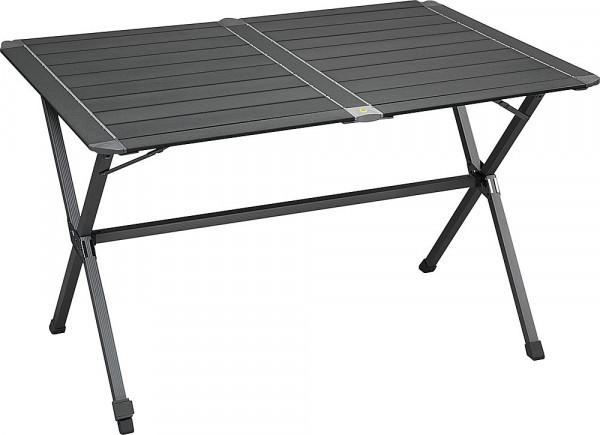 MOVERA Klapptisch Titan mit rollbarer Tischplatte, grau