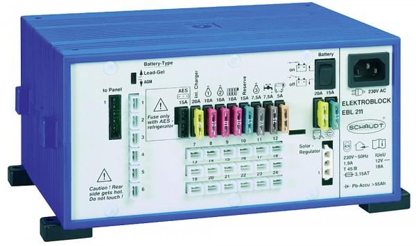 SCHAUDT Elektroblock EBL und Anzeigepanel LT 453 EBL 208