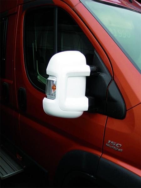 Spiegelschutz Fiat Ducato Spiegelprotektorsatz MIRROR PROTECTOR weiß L