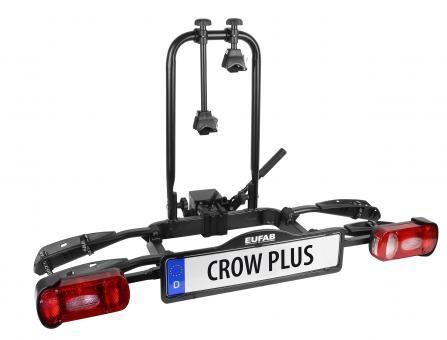 EUFAB Fahrradträger CROW PLUS für 2 Fahrräder erweiterbar