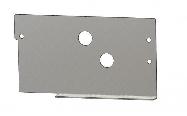 Adapter Montageplatten BPW Vario III IV verstärkt vor der Achse Rangierhilfe 36K