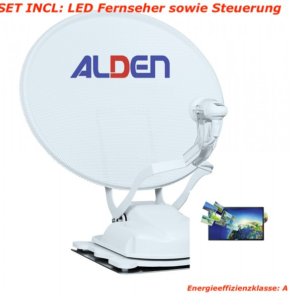 "ALDEN Onelight 60 HD EV A.I.O. All-In-One"" System + 22"" LED TV WEIß A"