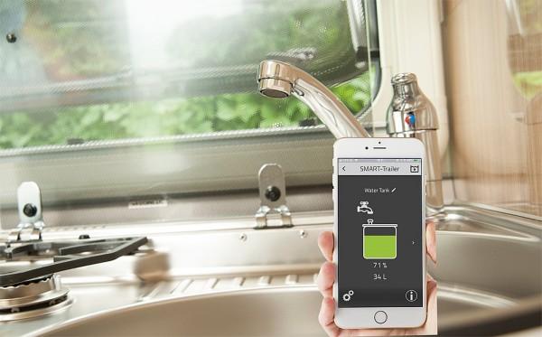 E-Trailer E-Waterlevel Wasserfüllstandsmesser