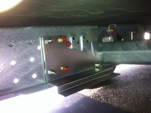 Rangierhilfe Mover Adapter für AL-KO M 1800 Kg Rahmen TRUMA Rangierhiflen