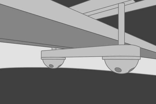 AirPass Autohome Dachzelt UNIVERSAL DIEBSTAHLSICHERUNGS-BAUSATZ