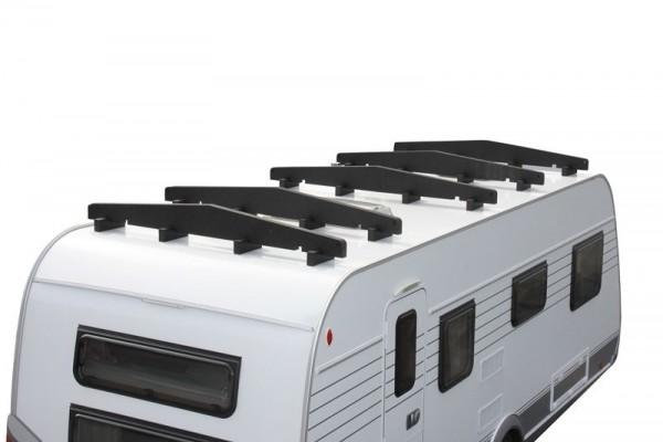 2 Pack Hindermann GIEBELPROFIL Wohnwagen Abdeckung Schutzhülle Dachschutzplane