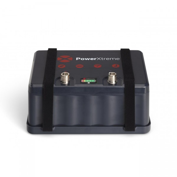 X30 Lithium 12V 30Ah BLACK Akku incl. Ladegerät Rangierhilfen Powerxtreme